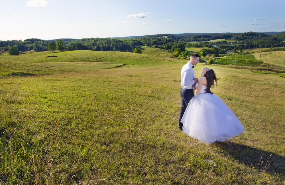foto ślubne suwałki okolice